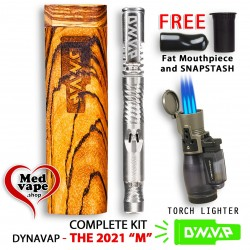 MEDVAPE-DYNAVAP COMPLETE KIT: THE M 2021 - SLIMSTASH - TORCH